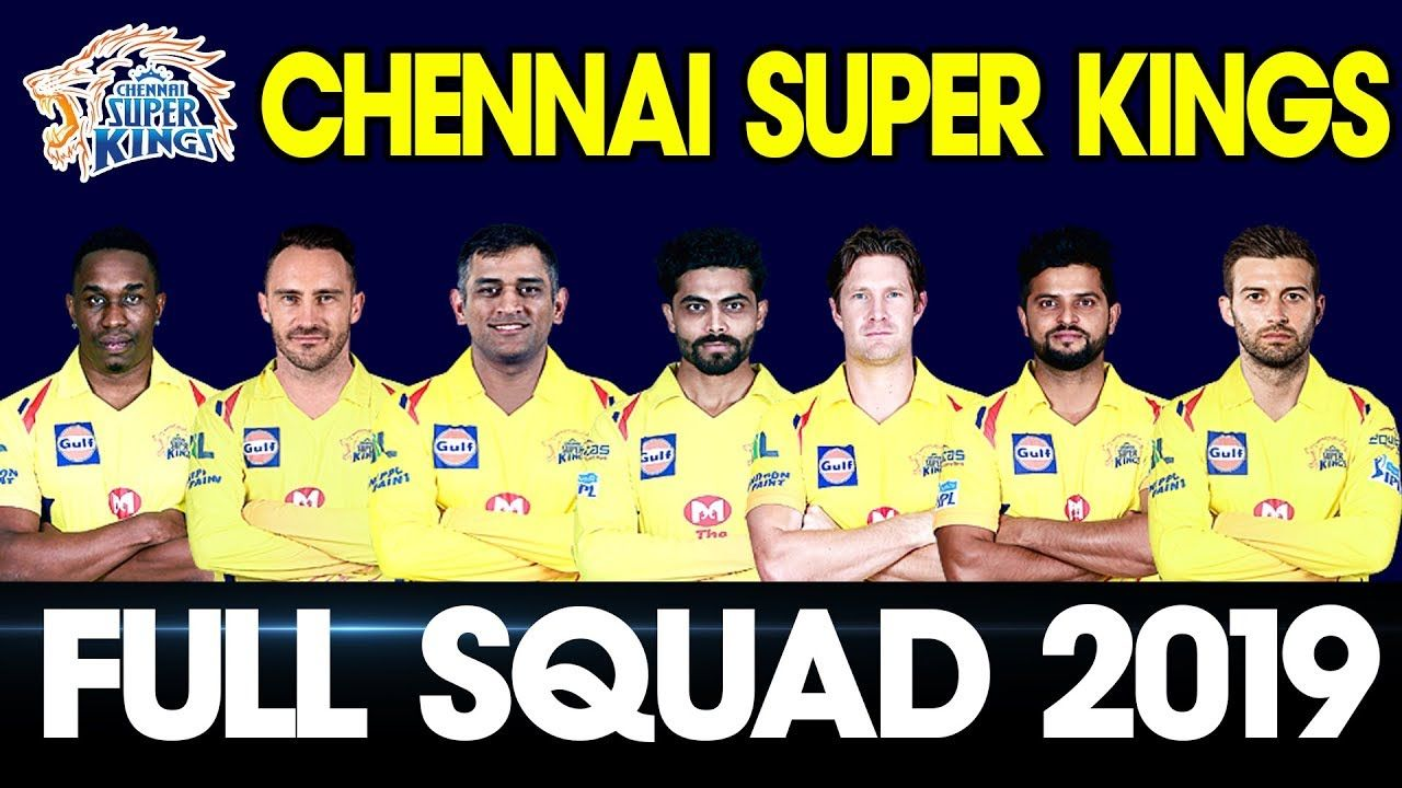 Channi super kings teams 2019