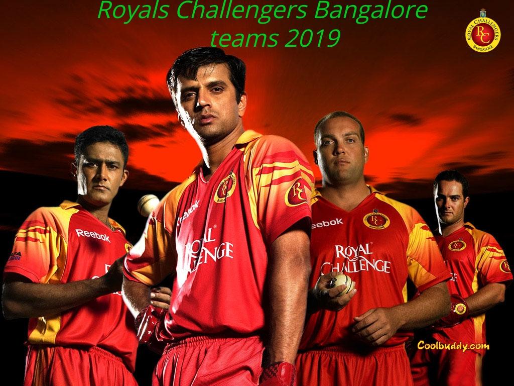 Royals challengers Bangalore's teams