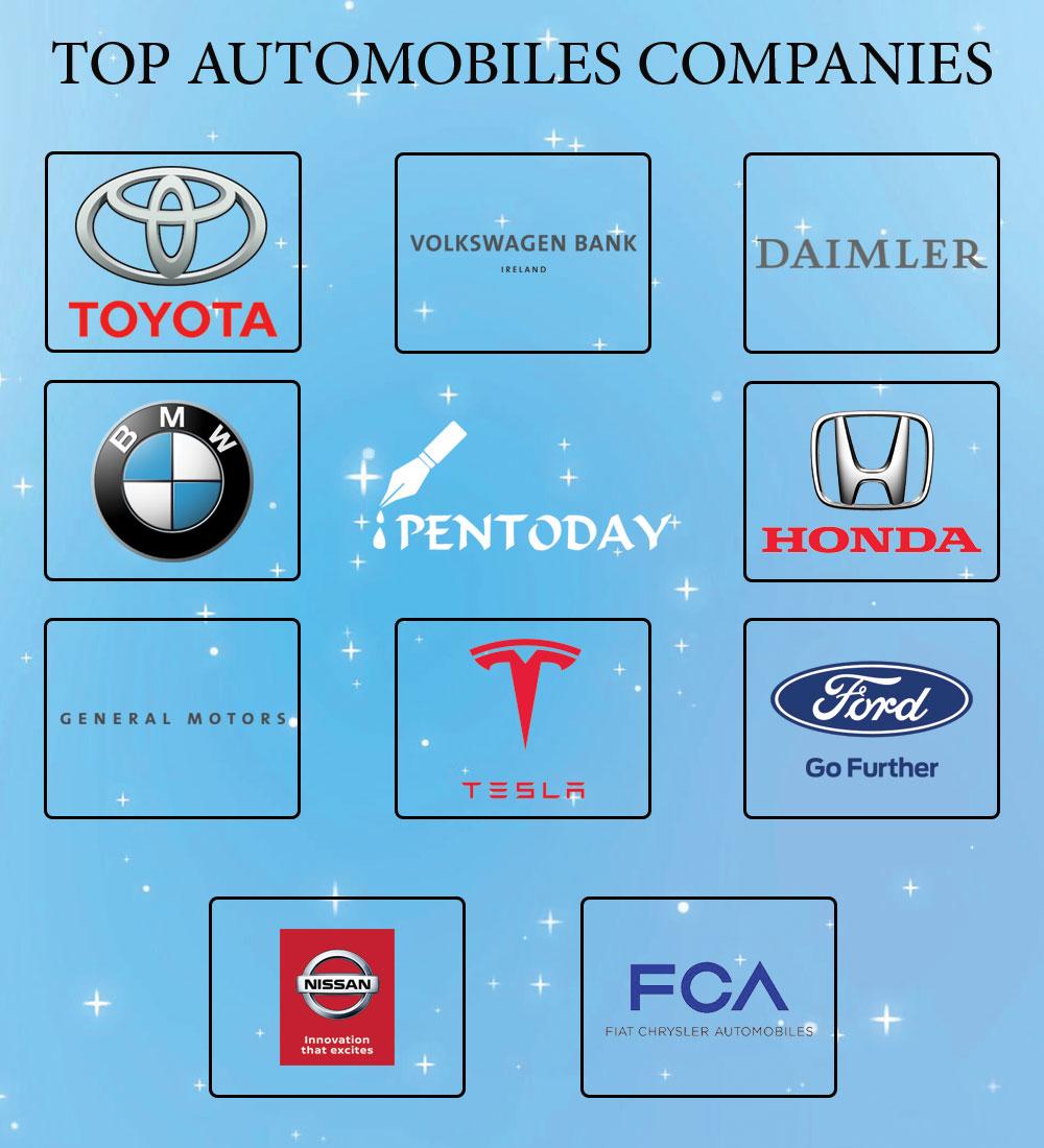 top automoblies companies
