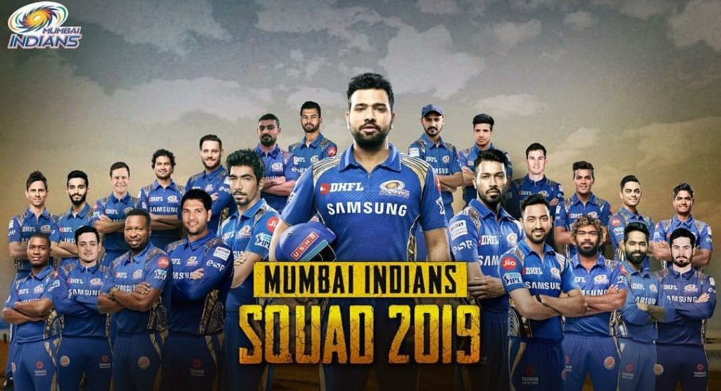 Mumbai Indians team players