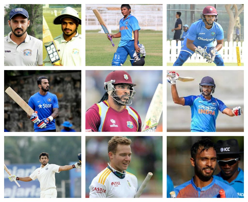 batsman list