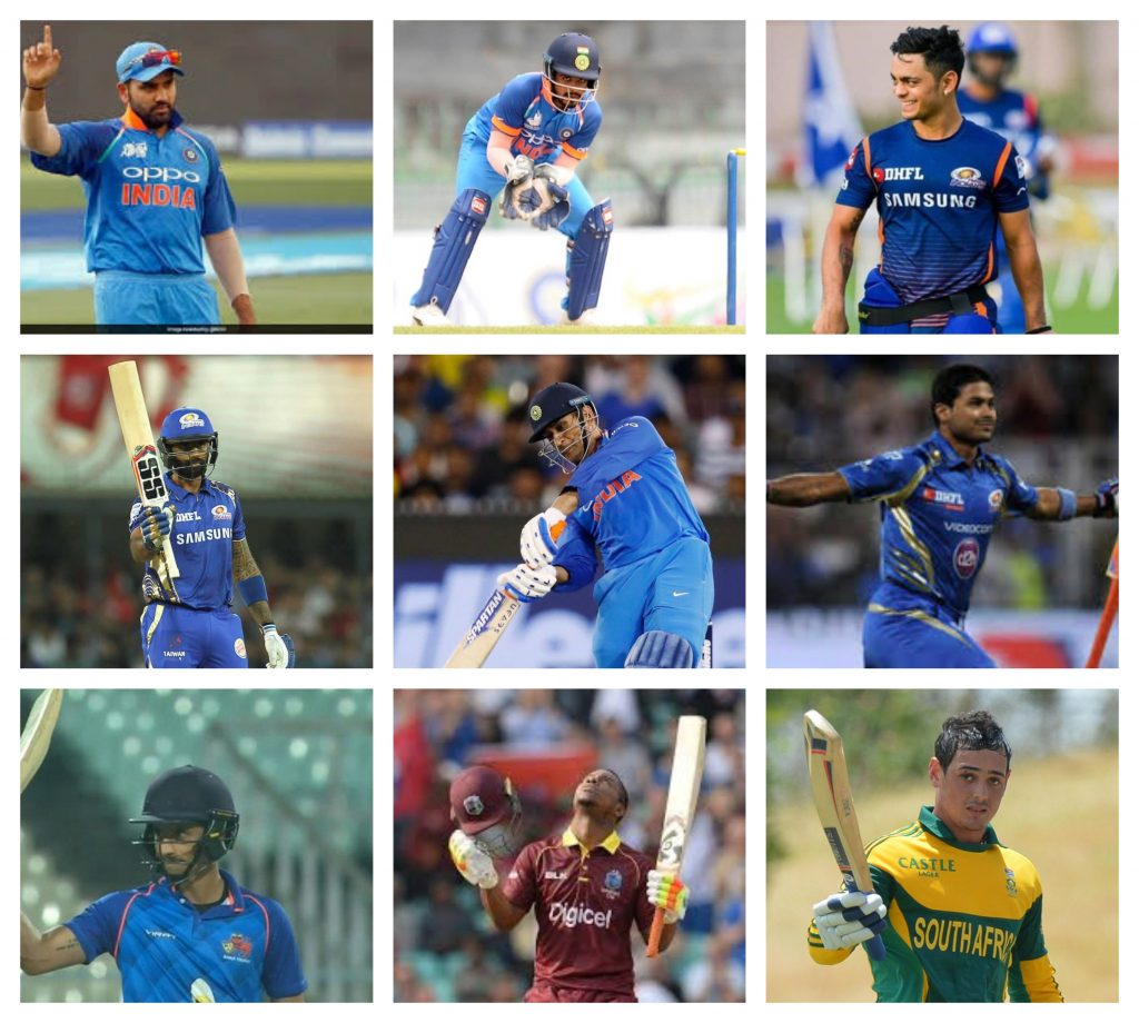 batsman of MI team