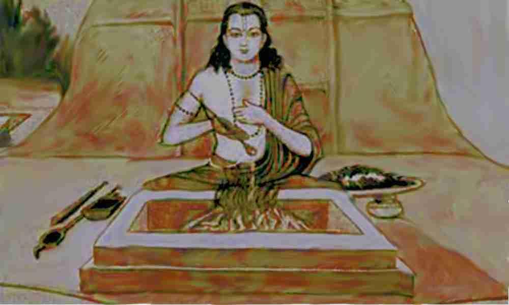 Mantra language Atharvaveda vedas