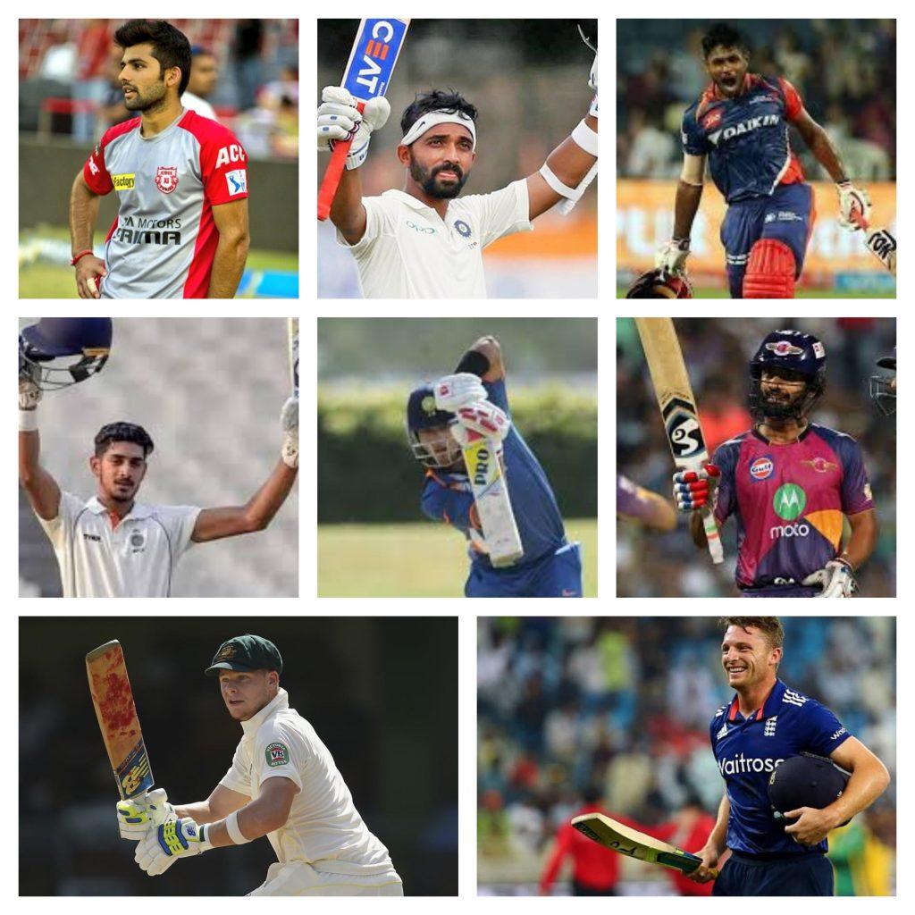 batsman name of RR team