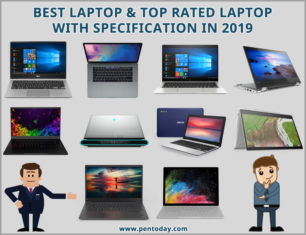 Best Laptop & Top Rated Laptop With Specification in 2019